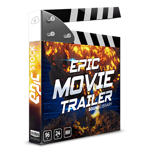 Epic Movie Trailer - A Hybrid Cinematic Sound FX library for film sound designer