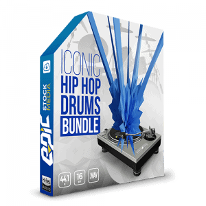 Iconic Hip Hop Drums Master Bundle - 9 drum sample libraries 2000+ iconic hip hop drum kits, loops, kicks, snares, and hats