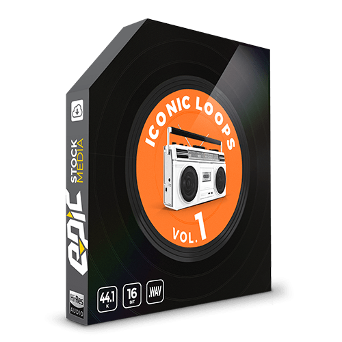 Iconic Loops Vol 1 Boom Bap drum samples and Underground drum loops