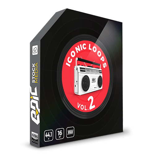 Iconic Loops Vol 2 inspired by legendary hip-hop producers drum sample loops