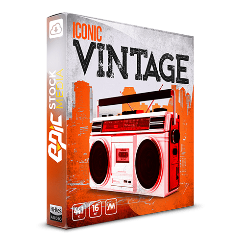Iconic Vintage the most in-demand hip-hop drums and samples