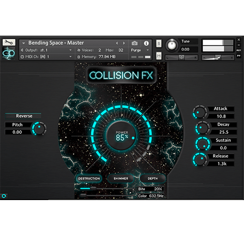 Collision FX - KONTAKT Plugin