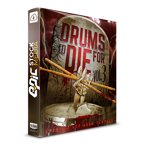 Drums to Die For Box V3 Dark Hip Hop Drum Samples