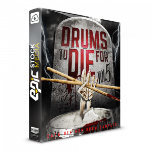 Drums to Die For Box V5 Dark Hip Hop Drum Samples