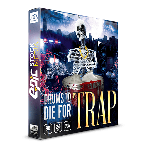 Drums to Die For Trap Drum samples box