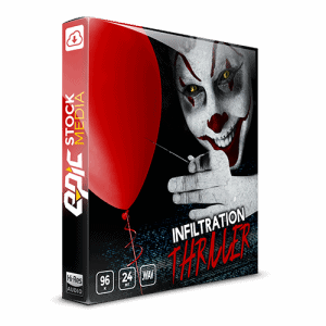 Infiltration Thriller cinematic sound effects Box