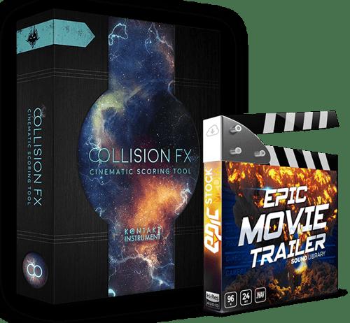 Collision FX Epic Movie Trailer SFX Bundle