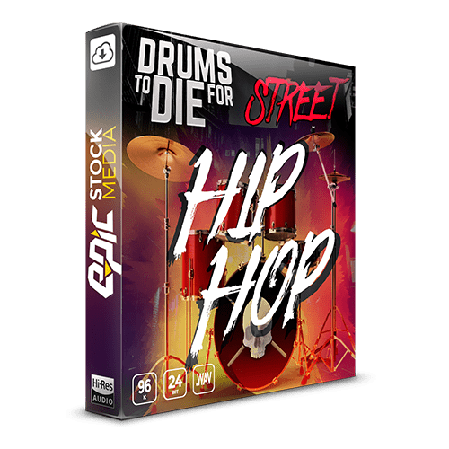 Drums To Die For Street Hip Hop - Sample Pack