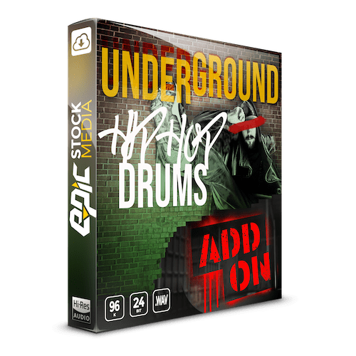 Underground Hip Hop Drums - The Add on - Sample Pack