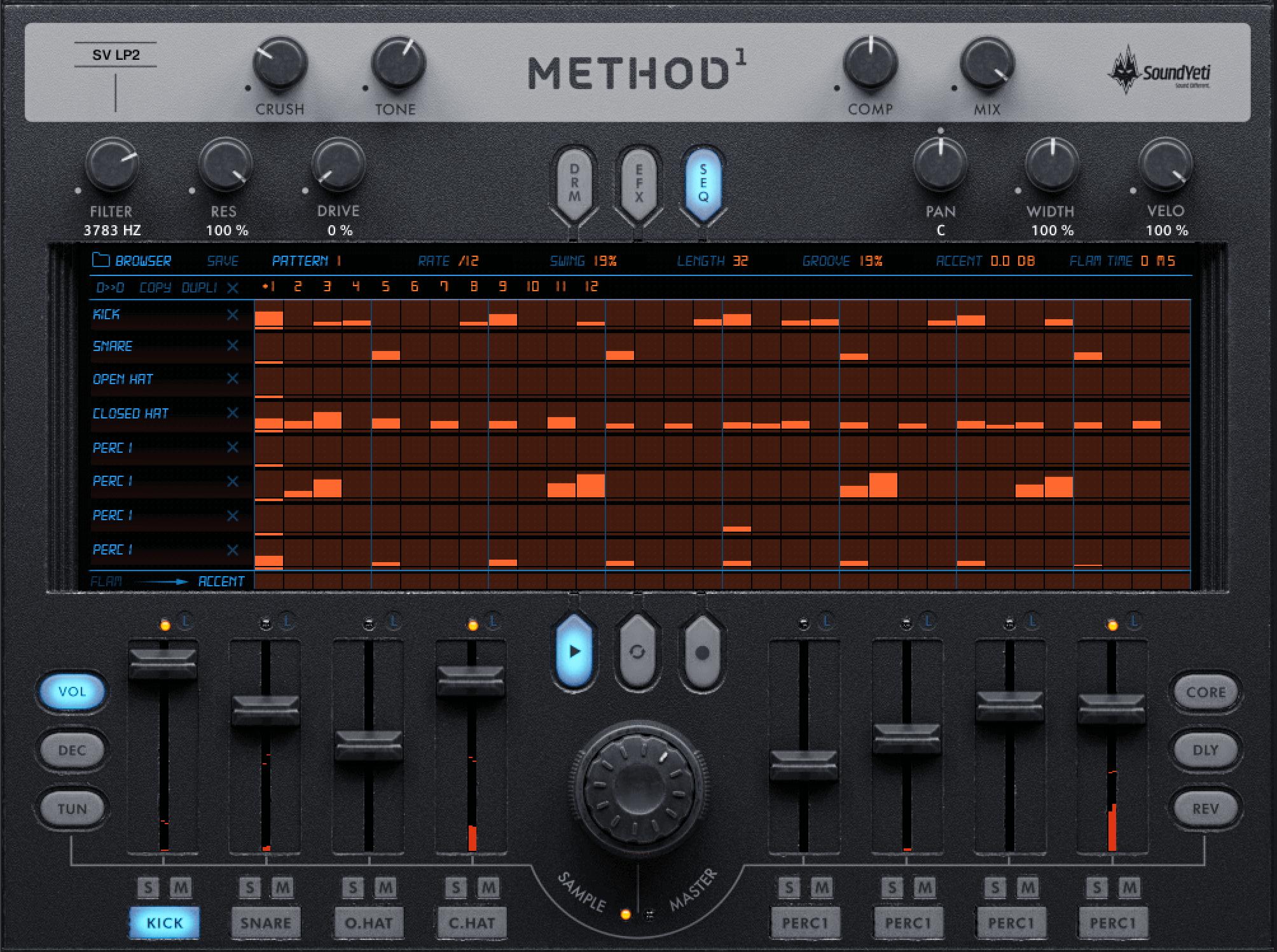 Method 1 Drum Machine
