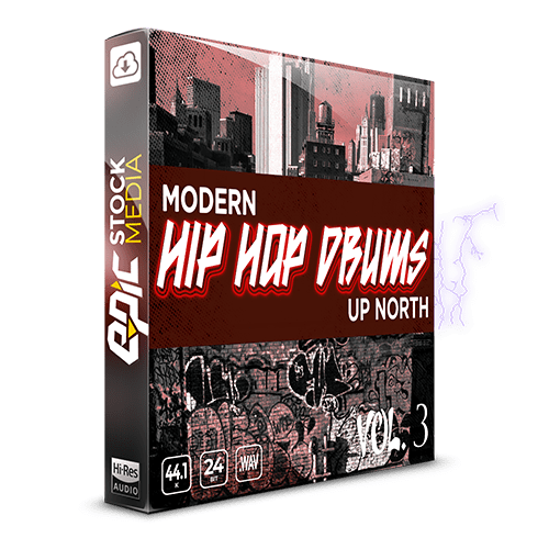 Modern Up North Hip Hop Drums Vol. 3 Sample Pack