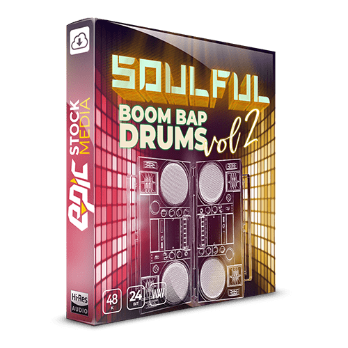 Soulful Boom Bap Drums Vol. 2 Sample Pack
