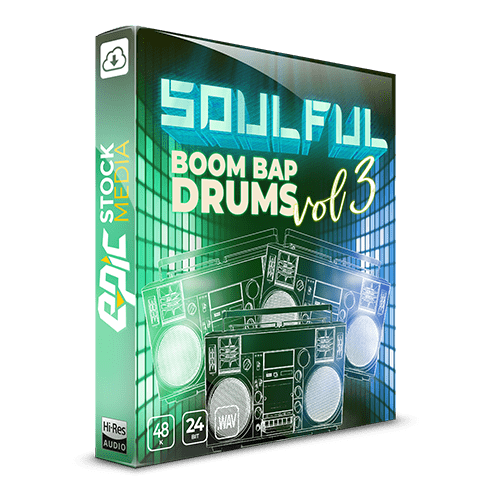 Soulful Boom Bap Drums Vol. 3