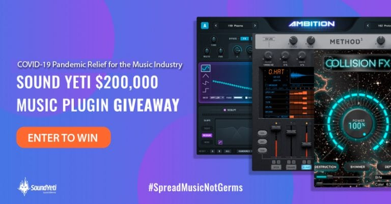 sound yeti music plugin giveaway