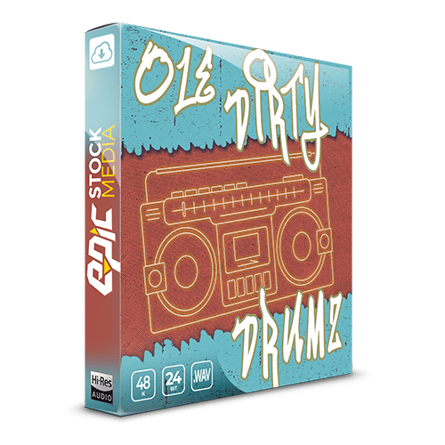 Ole Dirty Drums Hip Hop Sample Pack