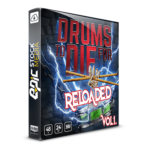 Drums To Die For Reloaded Vol. 1 Sample pack