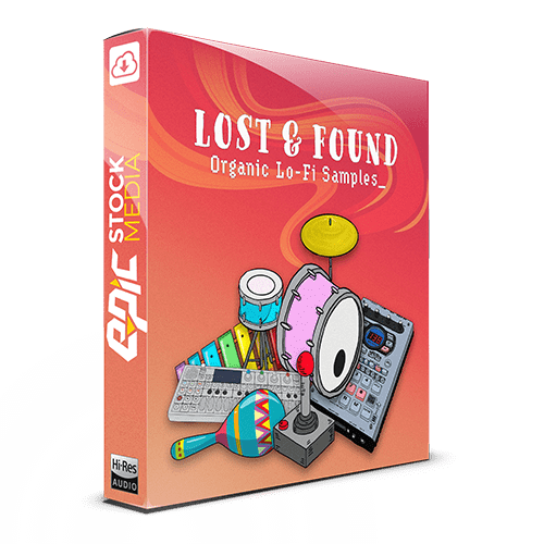 Lost and Found Organic Lo-fi Samples Pack