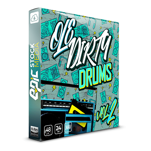 Ole Dirty Drums VOl. 2 Hip Hop Sample Pack Old School