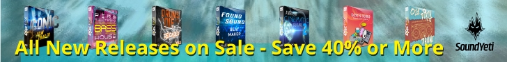 New Sounds Samples Royalty Free Sounds on Sale