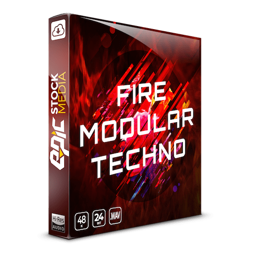 Fire Modular Techno Samples Lo-fi Sample Pack