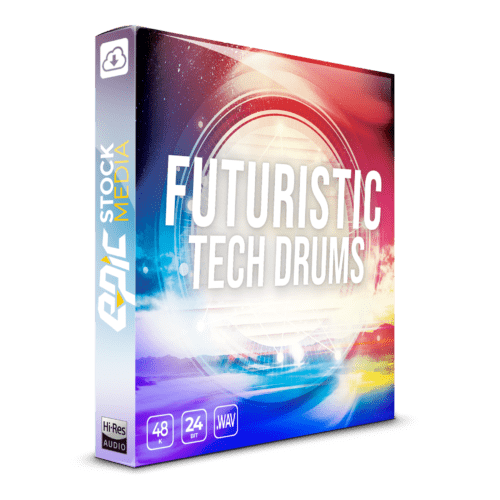 Product Image - Futuristic Tech Drums