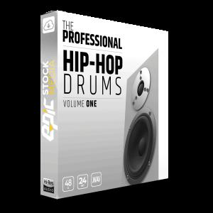 The Professional Hip Hop Drums Vol. 1 - Box Image