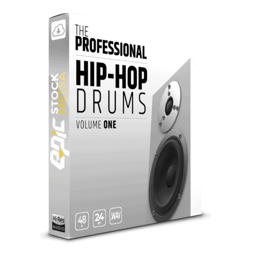 The Professional Hip Hop Drums Vol. 1 - Box Image
