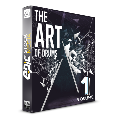 The Art Of Drums Vol. 1 - Box Image