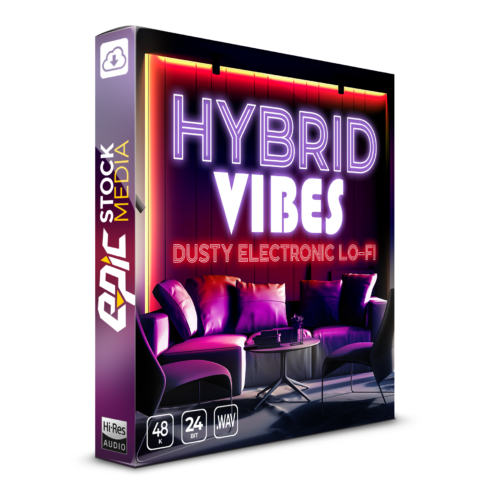 Hybrid Vibes: Dusty Electronic Lo-fi Box Image