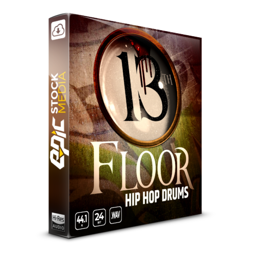 13th Floor Hip Hop Drums Vol. 1 Box Image