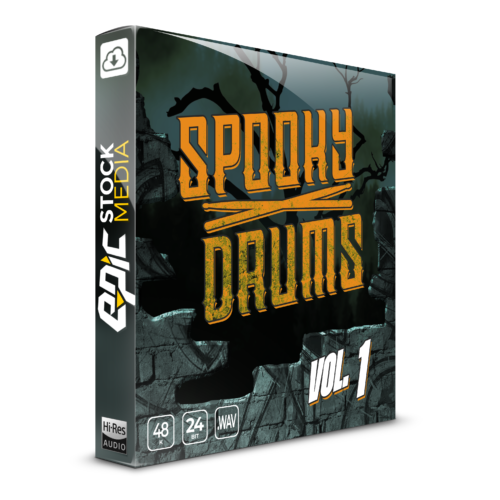Spooky Drums Vol. 1 Box Image