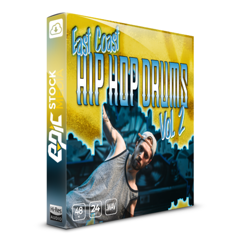 East Coast Hip Hop Drums Vol. 2 Box Image