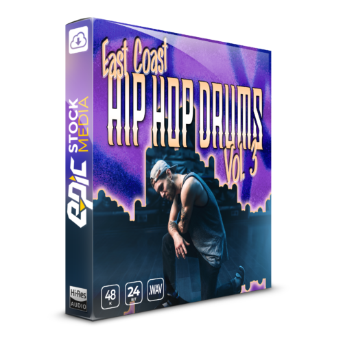 East Coast Hip Hop Drums Vol. 3 Box Image