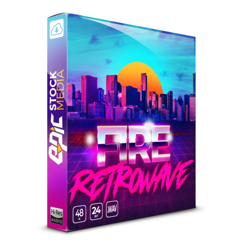 Fire Retrowave Box Image