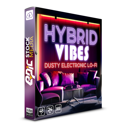 Hybrid Vibes Dusty Electronic Lo-Fi Box copy 2