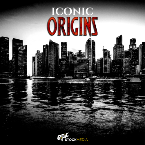 Iconic Origins Hip Hop Drums Vol. 1 Cover Image