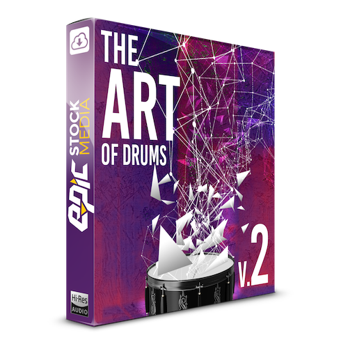 The Art of Drums Vol. 2 Box Image