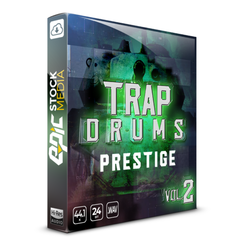 Trap Drums Prestige Vol. 2 Box Image