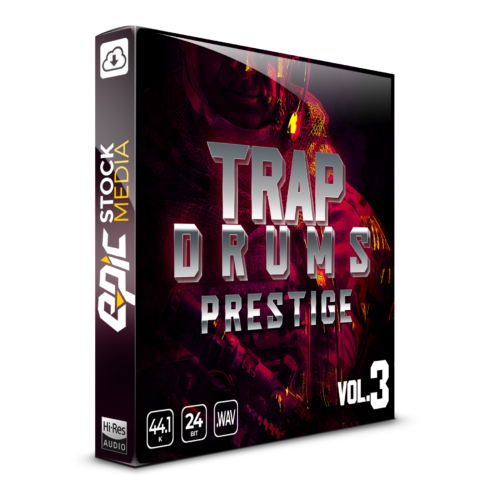 Trap Drums Prestige Vol. 3 Box Image