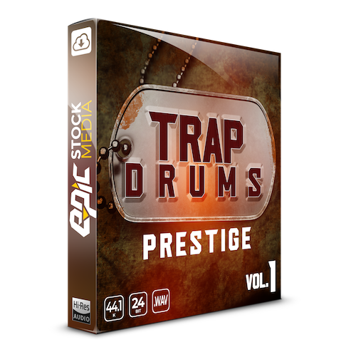 Trap Drums: Prestige Vol. 1 Box Image