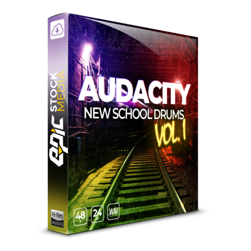 Audacity New School Drums Vol. 1 Box Image
