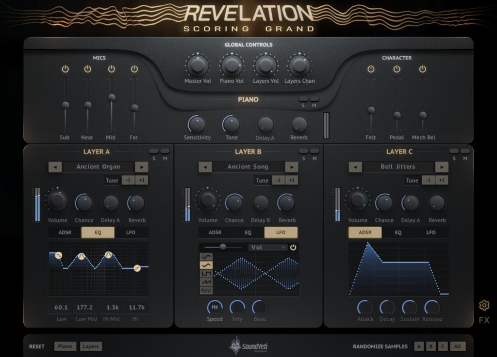 Revelation Scoring Grand by Sound Yeti