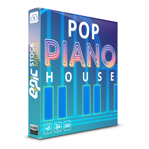 Pop Piano House & Midi file pack sample library pack EDM dance