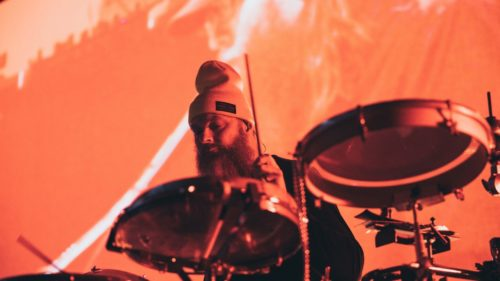 Organic Drums & Percussion sounds sample pack by Todd Bragg - Photo by Harrison Maxwell