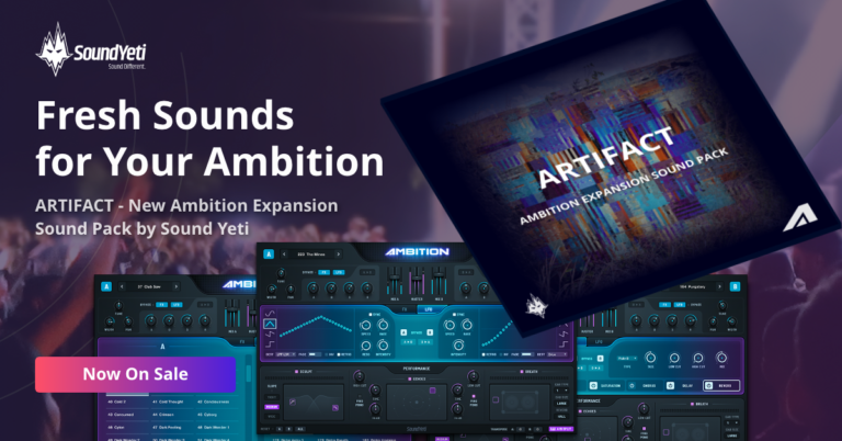 Artifact Expansion Sounds for Ambition VST